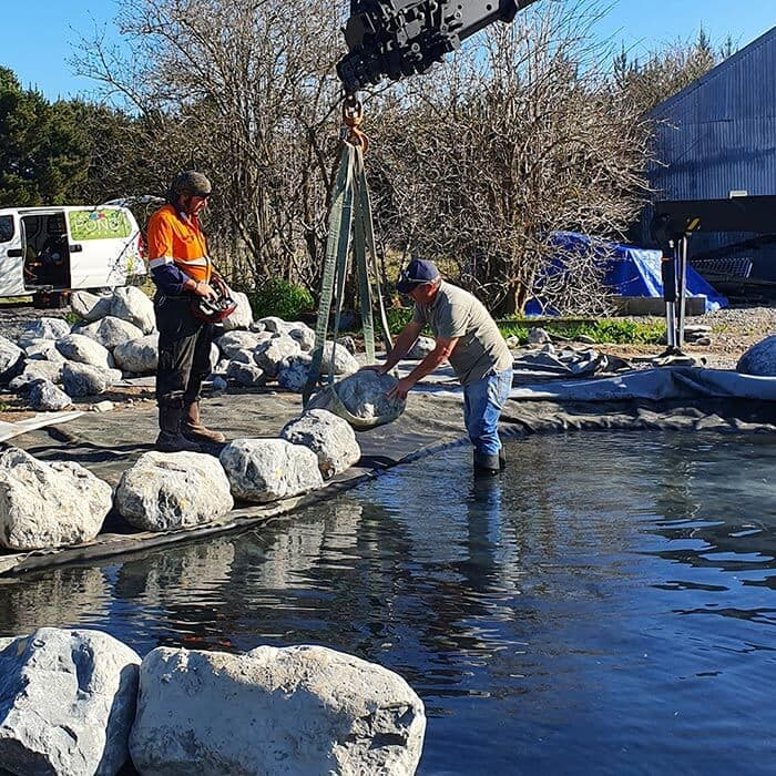 Pond Construction & Repairs Christchurch